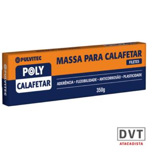 MASSA  CALAFETAR PULVITEC  350GR (CX C/24) UA002