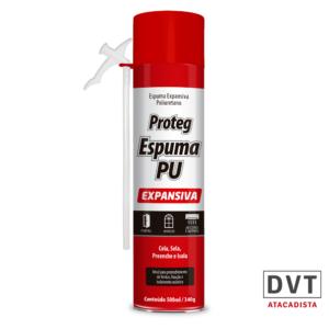 ESP EXPANSIVA DE PU 340GR/500ML PROTEG PCT 12 UN