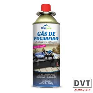 GAS FOGAREIRO 400ML DOMLINE