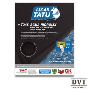 TATU LIXA DAGUA T245 GRAO 080 (PCT 50)