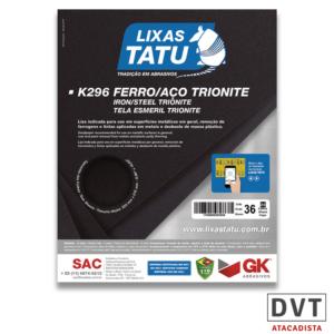 TATU LIXA FERRO K296 GRAO 036 (PCT 25)