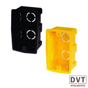 CAIXA DE LUZ PVC 4X2 CANAL PT PCT C/150