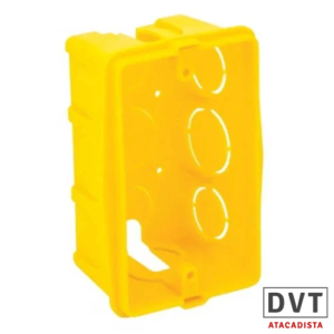 CAIXA DE LUZ PVC 4X2 ROMA AMA PCT C/24 6080 1