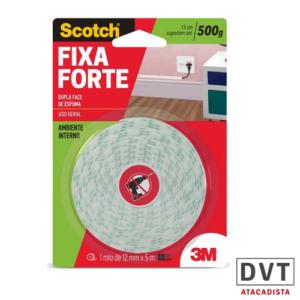 FICA DP FACE FIXA FORTE 12MM X 5M CX24 3M 7654