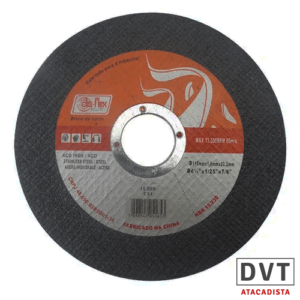 DISCO CORTE INOX 4.1/2″ X 22,2MM BZE DISFLEX 15059