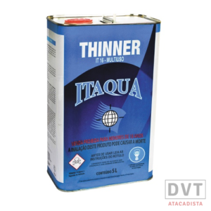 THINNER 5 LT IT-16 MULTIUSO ITAQUA CX 04 UN
